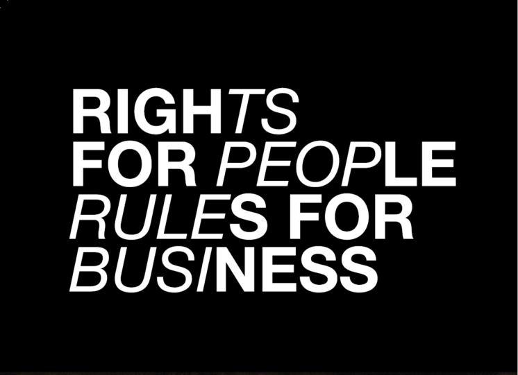 Rights for People Rules for Business