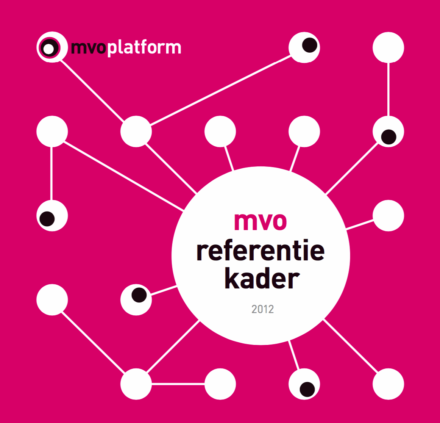 publication cover - MVO Referentiekader 2012