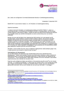 Brief over MVO in economische missies