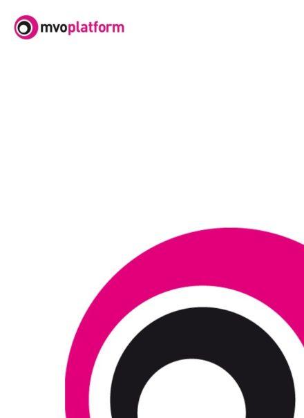 publication cover - Jaarverslag MVO Platform 2019