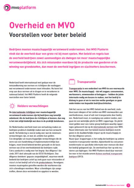 publication cover - Overheid en MVO